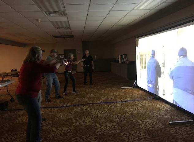 VIP SimResponse Shoot-Don't Shoot and Situational De-escalation Simulation Training