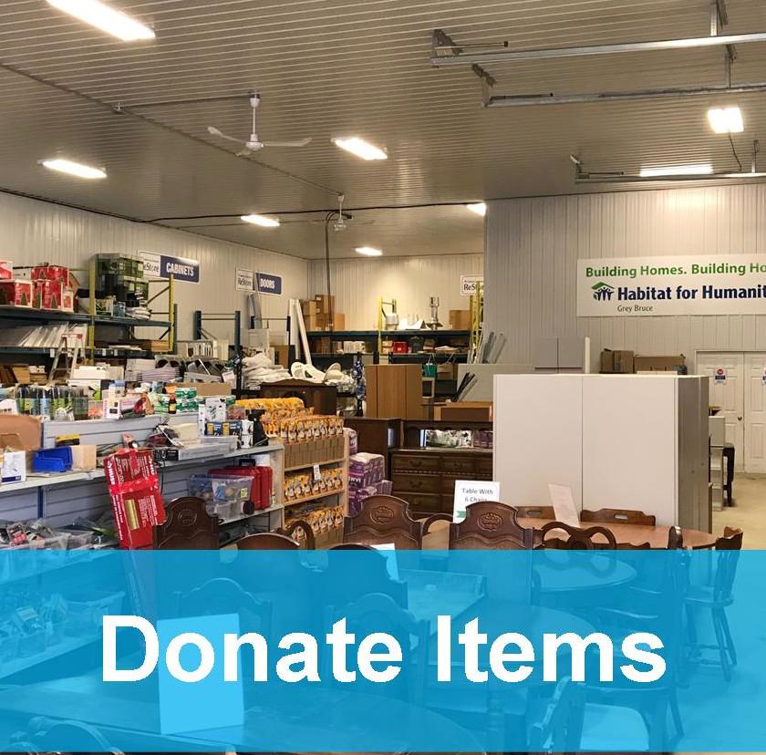 donate items
