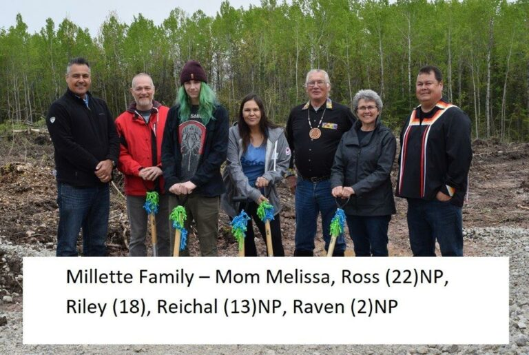 Millette family with names