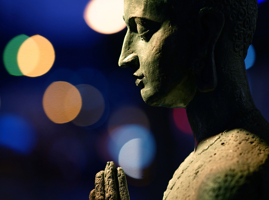 Buddha of stillness