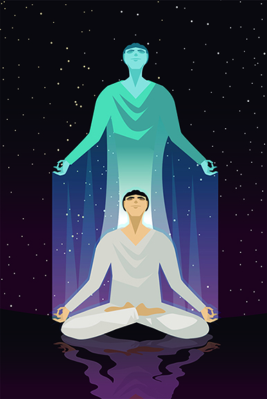 Higher Self and man