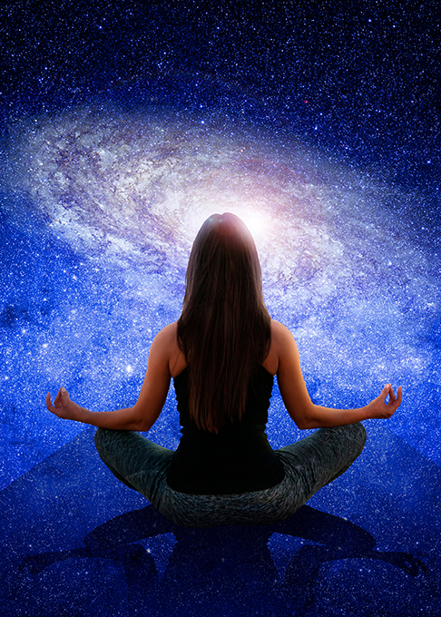 Meditate with the Galaxy