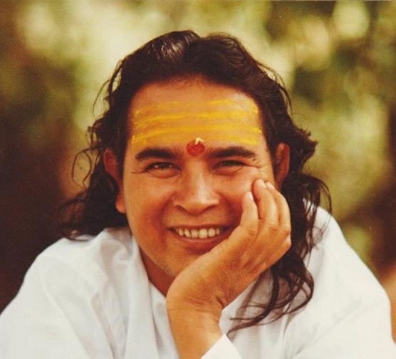 Babaji smiling