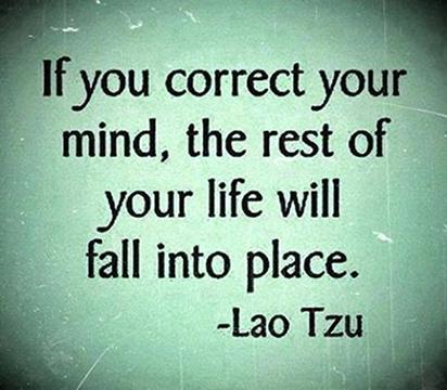 Master Lao Tse saying about the mind
