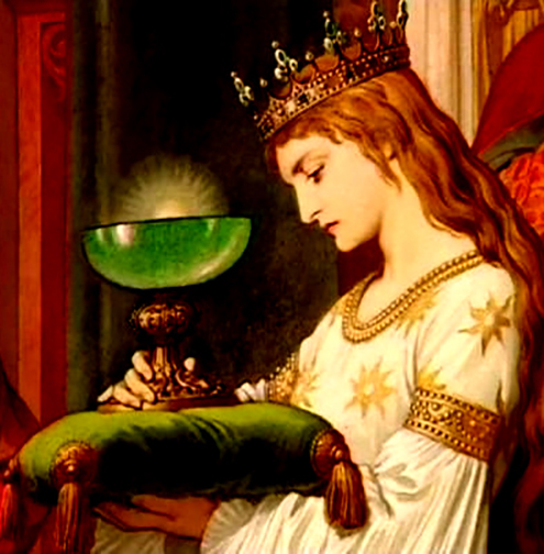 Mary Magdalene with the Grail