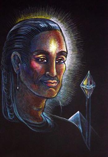 Rama with the gem