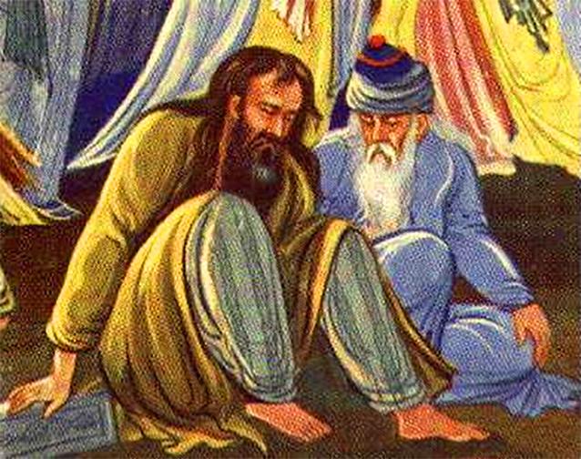Shams and Rumi