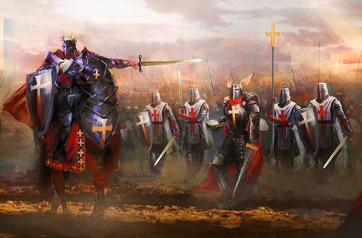 Templar battle