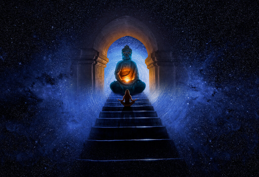 the Light of Buddha