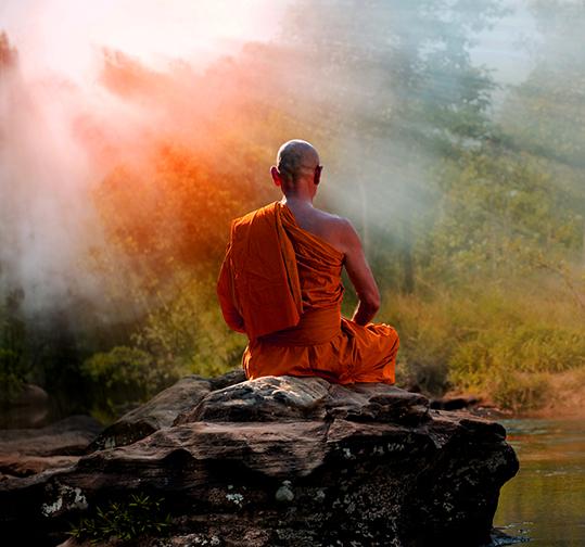 Buddha sunlight