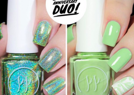 Painted Polish Moves Headquarters to San Diego + Celebrates 5-Year Anniversary with Pretty Peridot Duo