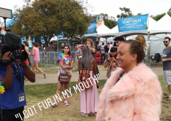 Our Publicist Chloe Janda is San Diego Pride's 2018 'Volunteer of the Year'