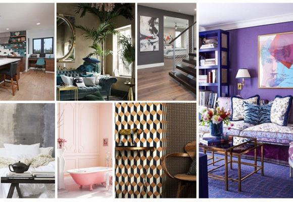 The 18 Top Interior Design Trends for 2018: Velvet is BACK!