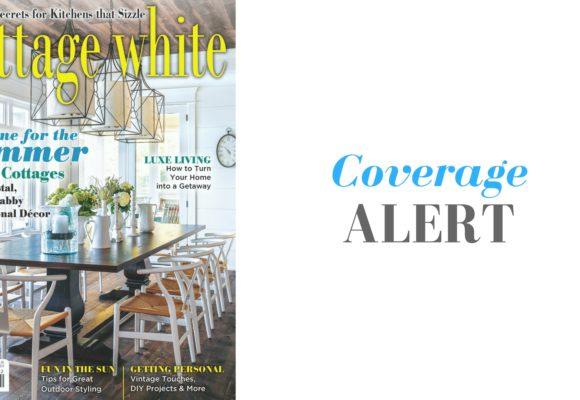 Client Jackson Design Featured in Cottage White Summer Issue