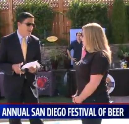 2014 SD Festival of Beer on Fox 5 San Diego