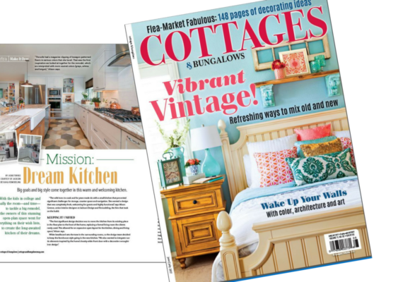 Client JDR in Summer Issue of Cottages & Bungalows