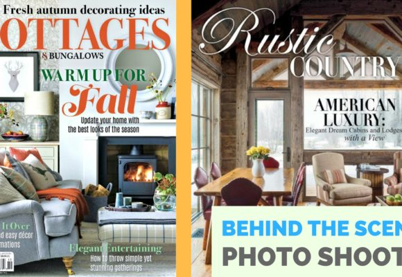 Two National Magazine Photo Shoots This Week!