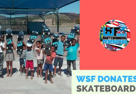 World Skateboarding Federation Donates Decks to South African Youth