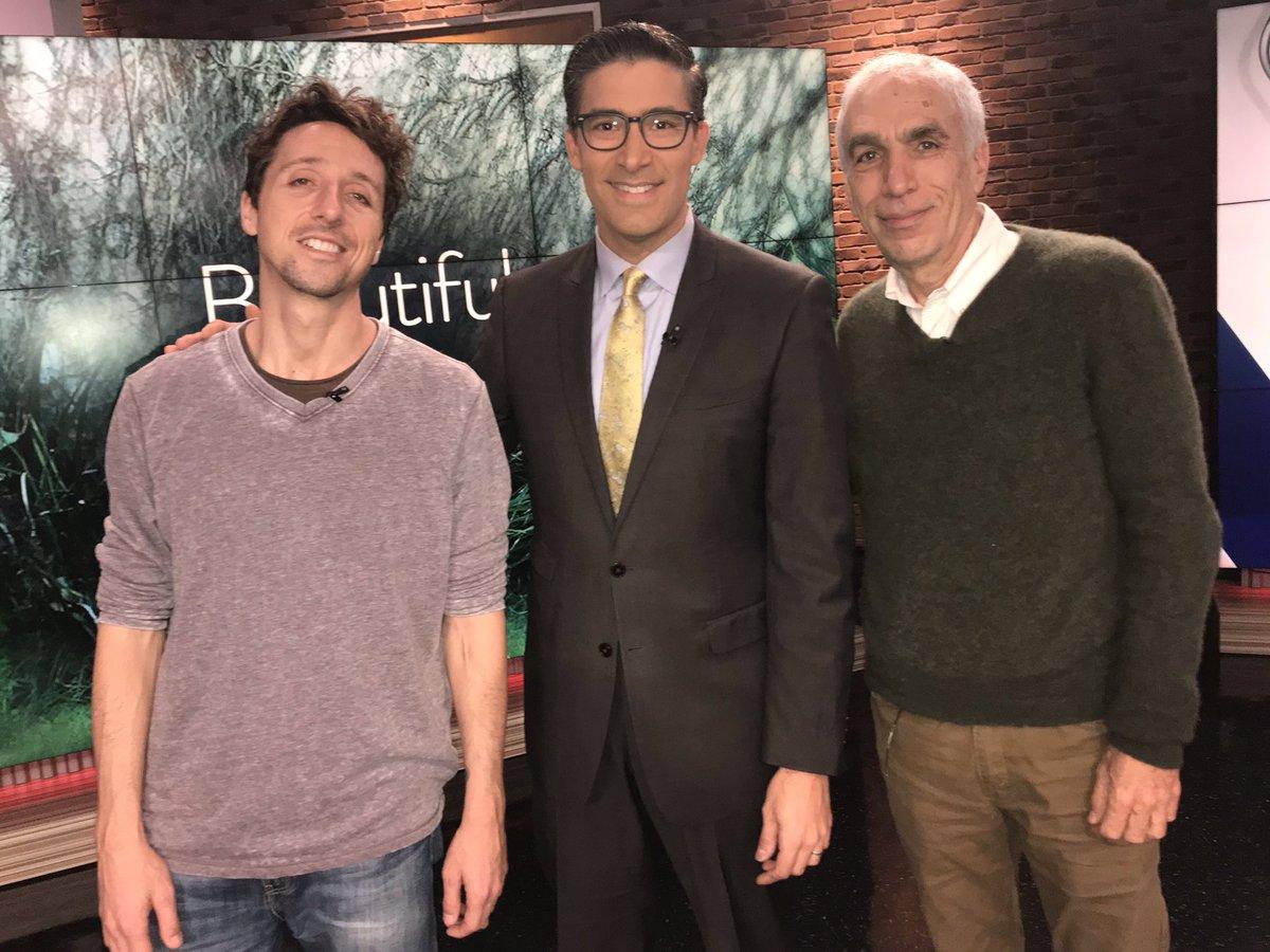 "David and Nic Sheff, Inspiration Behind Golden Globe Nominated Film ""Beautiful Boy"", Featured on KUSI and Fox 5"