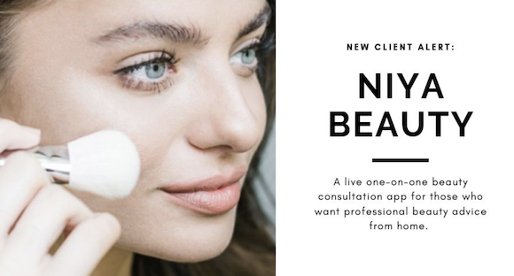 New Client Alert: NIYA Beauty