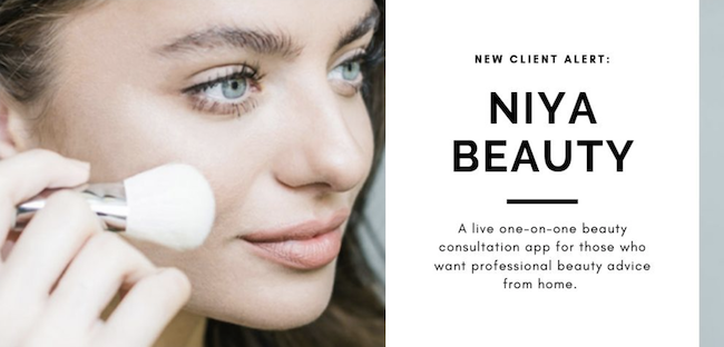 New Client Alert: NIYA Beauty