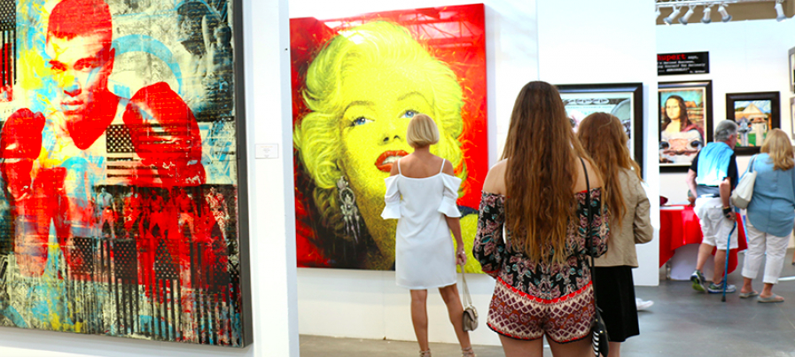 It's Official! Art San Diego Is Moving Downtown for the 2019 Show