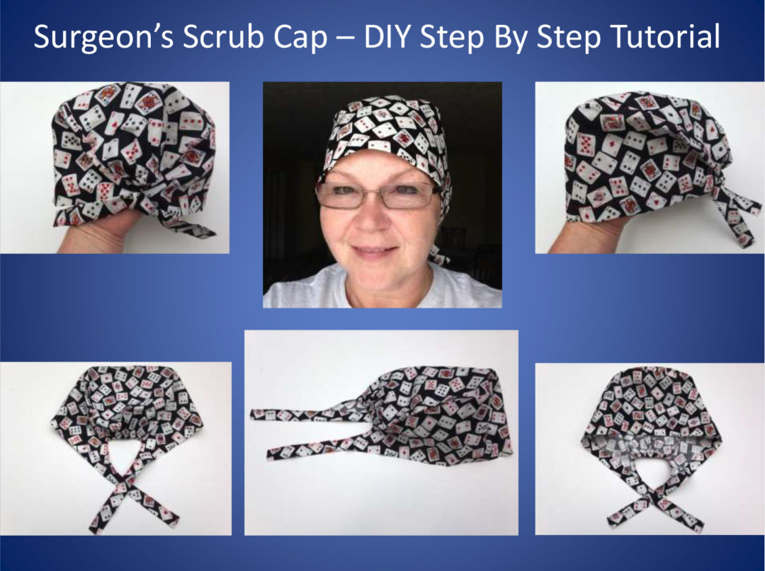 SURGEON'S SCRUB CAP TUTORIAL