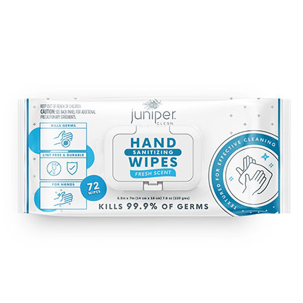 Juniper Clean Hand Wipes Flow Pack