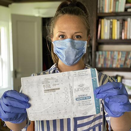 Juniper Clean Sterile Safety Set