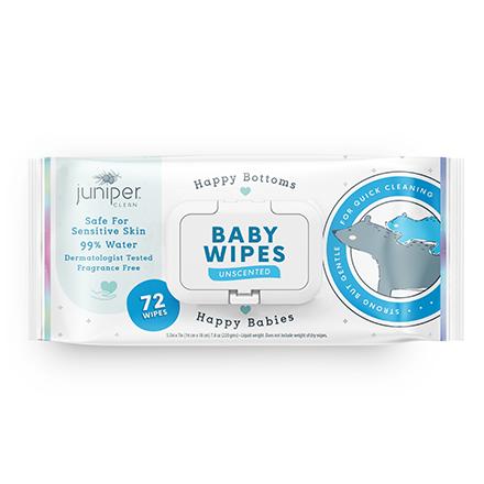 Juniper Clean Baby Wipes Flow Pack