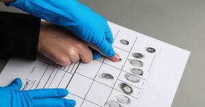 Getting Fingerprints Taken After Being Arrested