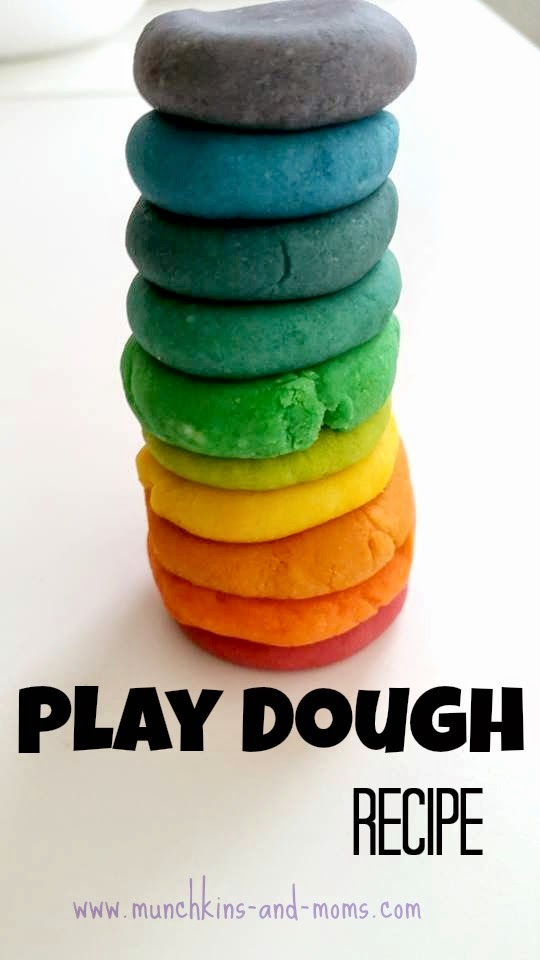 Super smooth home made play dough! Best recipe I've found yet :-)