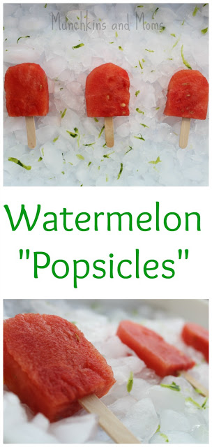Delicous and refreshing watermelon popsicles are the perfect summer snack!