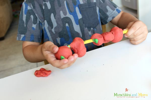 10 apples up on top activity