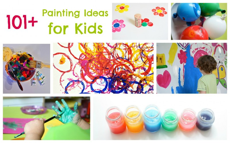101-Painting-Ideas-for-Children.-If-there-is-paint-involved-it-is-here-800x497