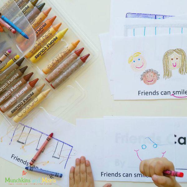 Preschool Friends Can book