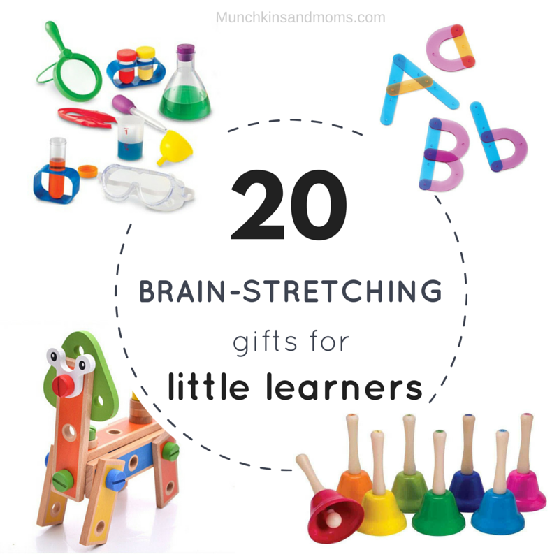 20 Brain-Stretching Gifts for Little Learners (A great Christmas gift guide for preschoolers!)