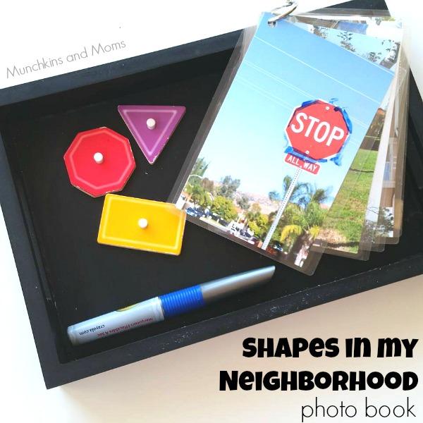 Shapes in my Neighborhood photo book