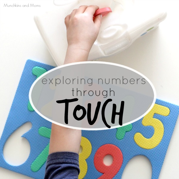 Exploring numbers through the sense of touch