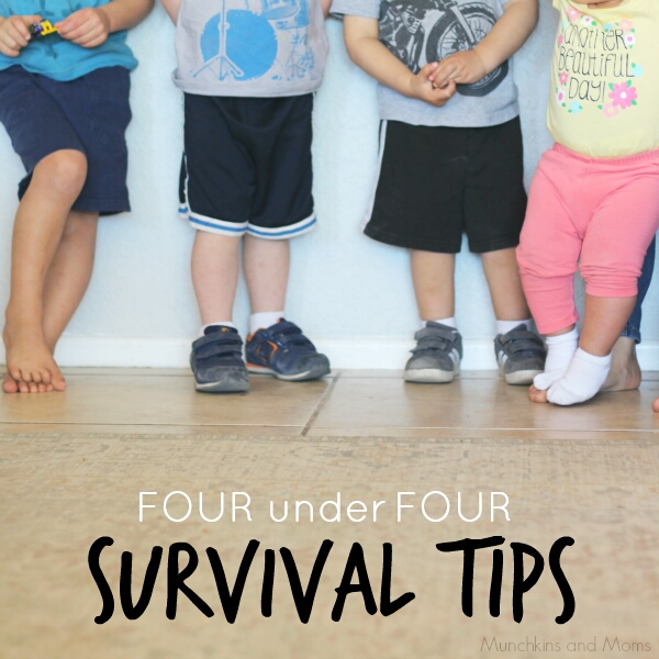 Survival tips for families with four kids under four