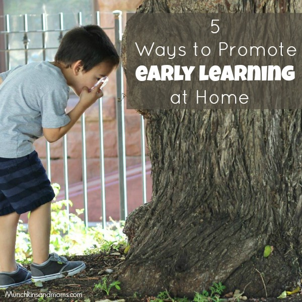 5 Ways to Promote Early Learning at Home