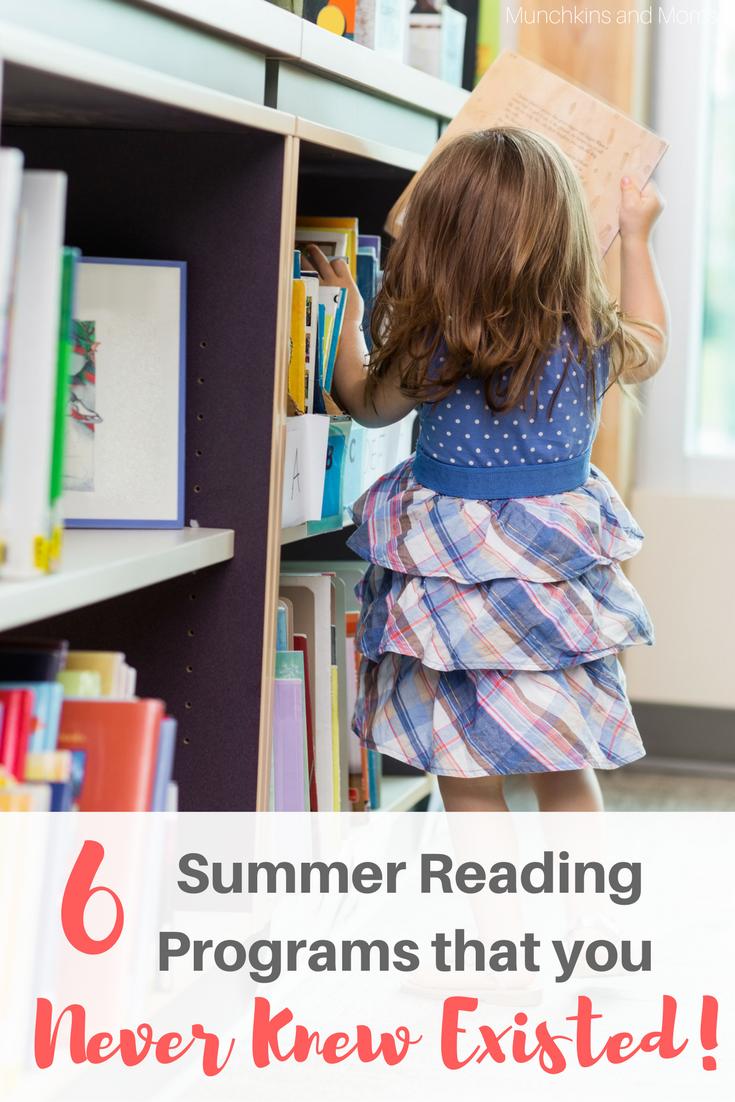 Free Summer Reading Programs for kids in 2017