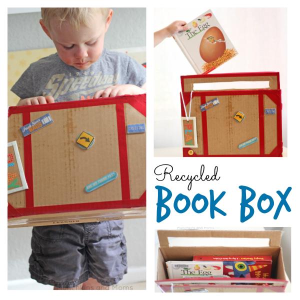 DIY preschool book box!