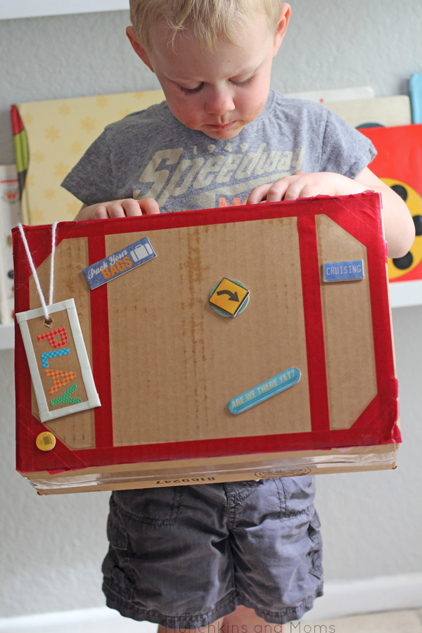 Preschoool Book Box- great for dramatic play centers too!