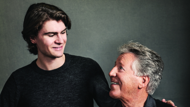 Who's the Next You? Racing Legend Mario Andretti on Up-and-Comer Colton Herta