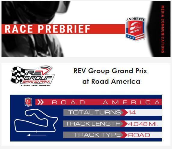 REV Group Grand Prix Road America Race Prebrief