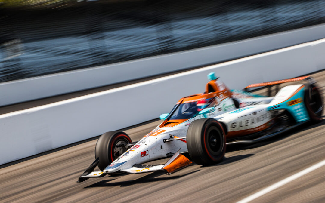 Herta Finishes 10th in Indianapolis 500