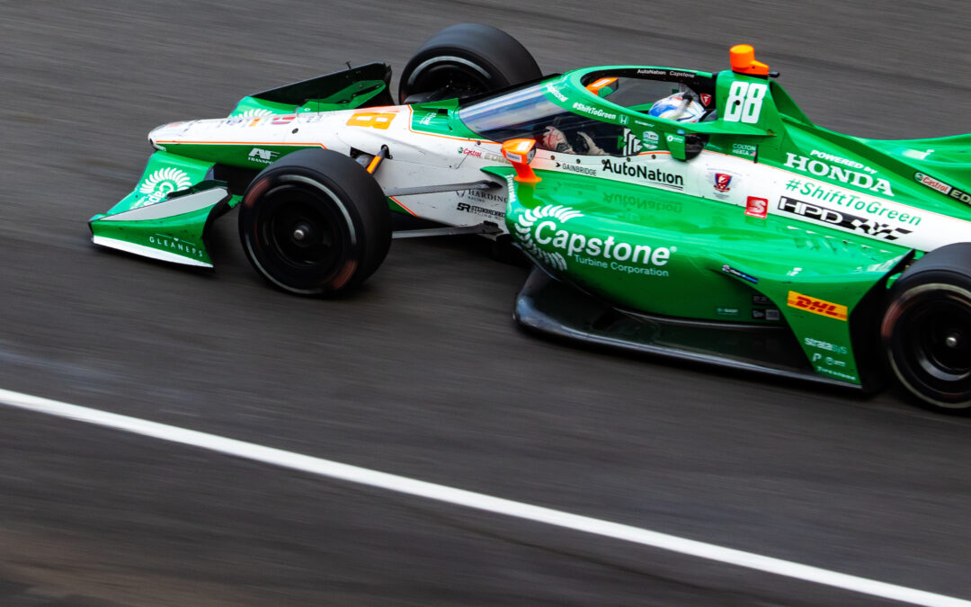 Herta Harvests a Podium in Race Two at Indy