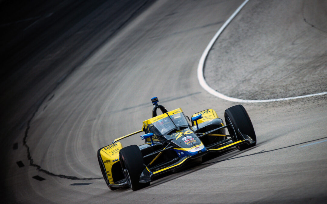 Late Race Misfortune Costs Colton Top-Five at Texas