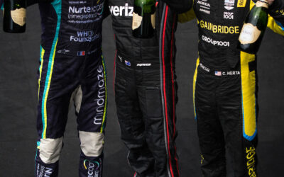 Herta Finishes Third at Big Machines Spiked Coolers Grand Prix